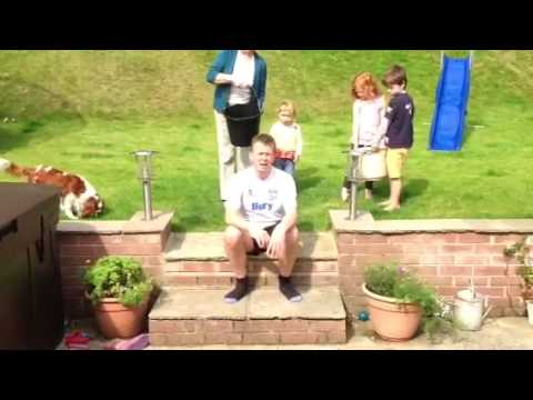 Ice bucket challenge Tim Clayton