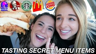 TASTING SECRET MENU ITEMS | Collaborations | AYYDUBS
