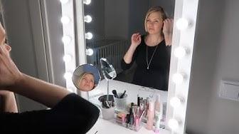 Vihdoinkin oma meikkauspiste | Lamps4makeup
