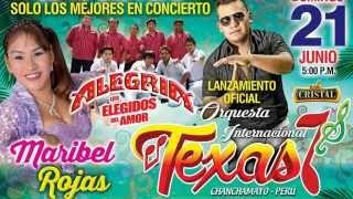 Orquesta texas Internacional Lanzamiento en Tarma 21 de Junio