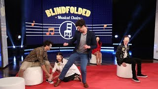 'The Fosters' Cast Plays 'Blindfolded Musical Chairs'
