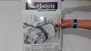 Комплект постельного белья евро LightHouse Bambu бежевый - обзор