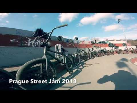 Prague Bmx Street Jam 2018 by #BRAKELESSLIFE_CREW & Local Riders
