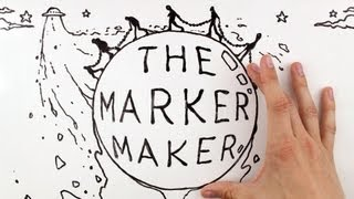 Stop-Motion - | Whiteboard-Animation: Die Marker Maker