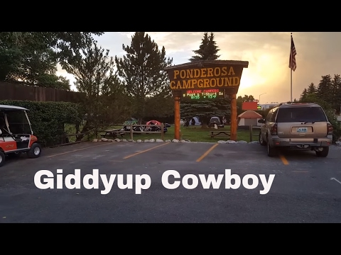 Quick And Dirty Review Of Ponderosa Campground Cody, Wyoming