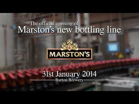 Marston's New Bottling Line Opening Highlights