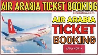 How To Create Air Arabia PNR BOOKING ||  RESERVATION In Air Arabia screenshot 5