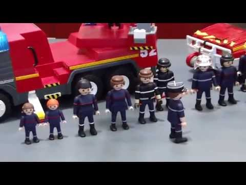 Passion pompiers 2013 henri doovi - Caserne de police playmobil ...