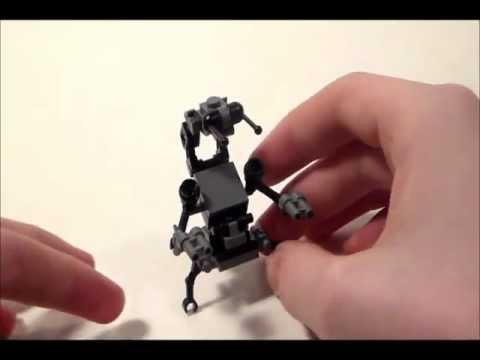 How To Build A Lego Destroyer Droid Droideka Youtube