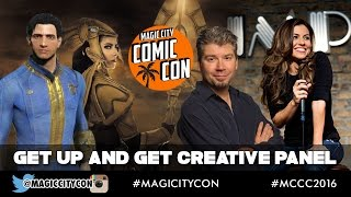 Get Up And Get Creative Panel at Magic City Comic Con Jan 2016