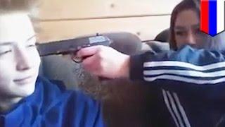 สู้ตำรวจก่อนจบชีวิตตัวเอง วัยรุ่นรัสเซียสตรีมสด