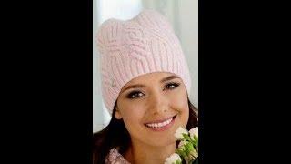 Модная Вязаная Шапка Спицами - 2019 / Fashionable Knitted Hat Knitting