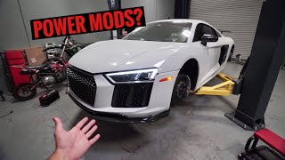My NO LONGER WRECKED Audi R8!