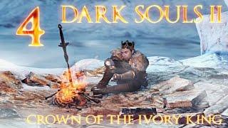 Zagrajmy w Dark Souls 2 DLC Crown of The Ivory King PL 4 Śnieżny Chciwy Demon, Zwiedzamy