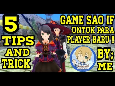 5 Tips & Trick Bagi Player Baru Game Sword Art Online: Integral Factor - By: Ridwan Gamerz | SAO IF