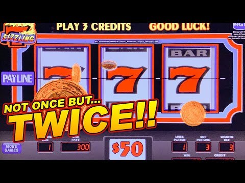 $150 BETS = 3 MASSIVE JACKPOTS! ★ SIZZLING 7 SLOT MACHINE ➜ HIGH LIMIT JACKPOTS!