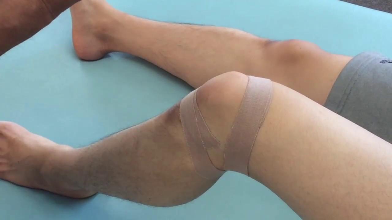 テーピング ジャンパー 膝