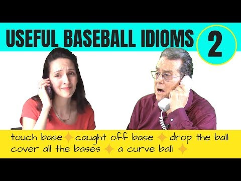 5 more useful American baseball idioms - and one British one (Part 2)