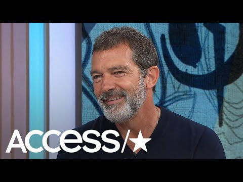 Antonio Banderas Dishes About How His Daughter Stella Is Going Into Acting | Access