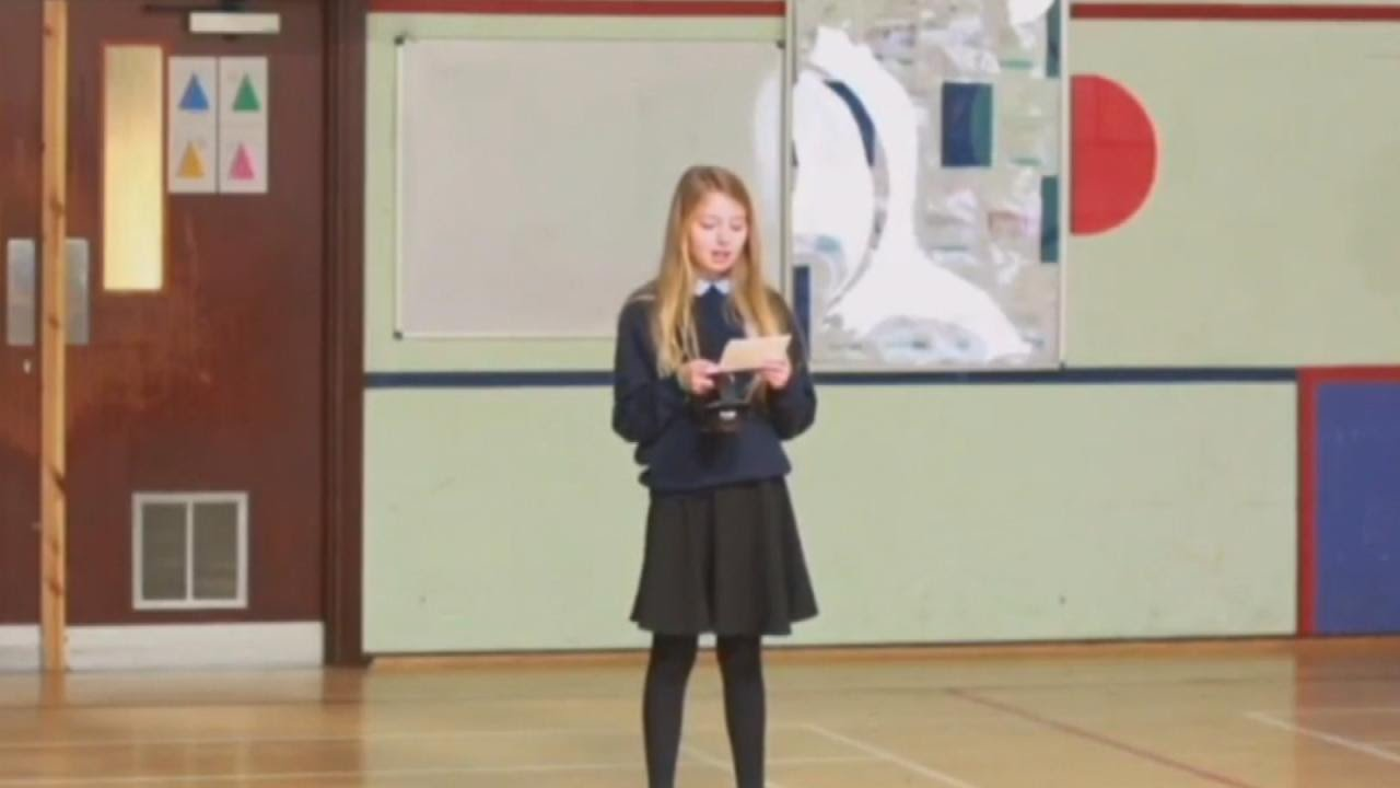 12-Year-Old Girl Calls School Assembly to Tell Classmates She Has Autism