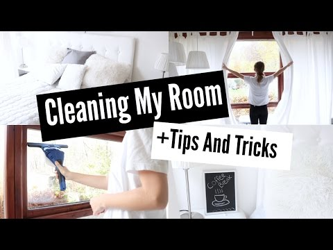 ♡Cleaning My Room//Tips+Tricks♡