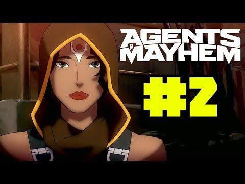 Agents of Mayhem Gameplay Walkthrough Part 2 - New Agent: Rama!