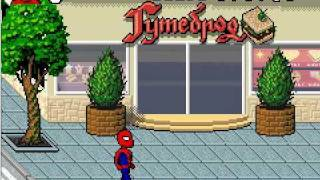 funny Spider-Man Pixel-art music video