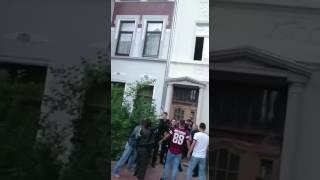 Montag 3.7.2017  in Bremerhaven Clan-Mitglieder greifen Polizisten an