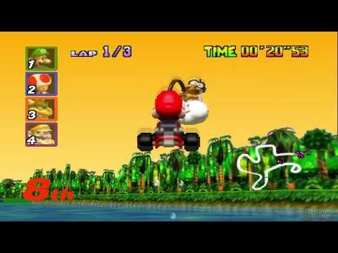 Evolution of Lakitu Rescues in Mario Kart (Reversed)