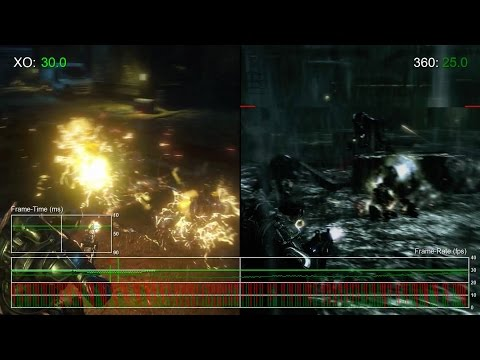 Сравнение качества графики и частоты кадров переиздания Gears of War на Xbox One с оригиналом на Xbox 360