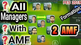 Best managers in pes 2018 formation 41234334213 tutorial 3