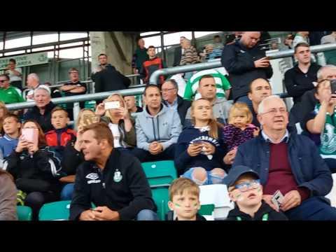 Moone Celtic FC U10 team playing half time at Tallaght Stadium