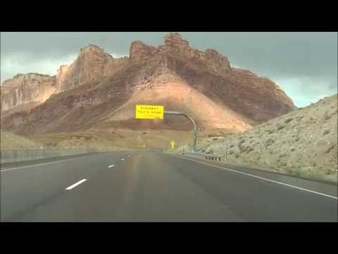 Utah - Interstate 70 East - Mile Marker 140 to 160