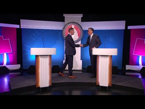 Mike Kennedy & Mitt Romney Senate Republican Primary Debate