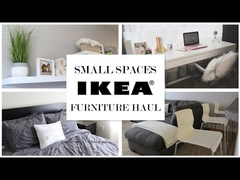 IKEA Ideas for Small Spaces - Furniture Haul