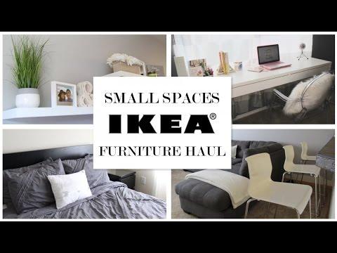 IKEA Ideas for Small Spaces - Furniture Haul