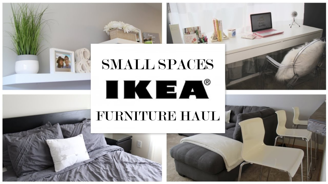 IKEA Ideas for Small Spaces - Furniture Haul - YouTube