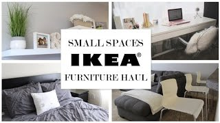 See what I bought at IKEA to furnish and decorate our condo living space. From the bedroom, living room, eating area to a working