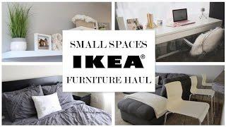 Ikea Ideas For Small Spaces   Furniture Haul