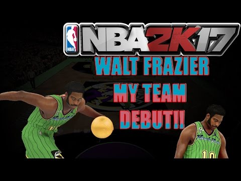 KNICKS G.O.AT. | WALT FRAZIER DROPS 21 ON HIS HEAD! NBA 2K17 MY TEAM DIAMOND WALT FRAZIER DEBUT