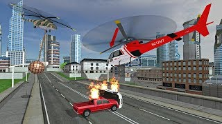 futuristic helicopter rescue simulator flying by game tap android gameplay hd