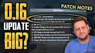 THE PUBG MOBILE 0.16.0 UPDATE IS ACTUALLY... HUGE?