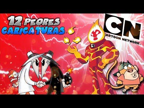 Top 12 PEORES Caricaturas De Cartoon Network (Parte 1)