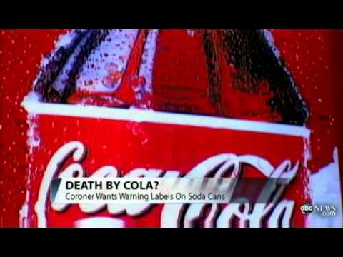 Coroner Links Mom's DEATH to Coke 'Addiction' | Coca Cola KILLED a Mother