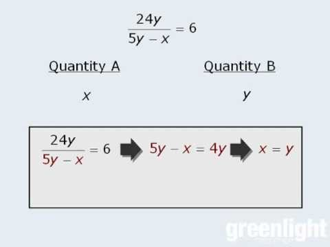 GRE Math - Quantitative Comparison - QC Strategy - Number Sense