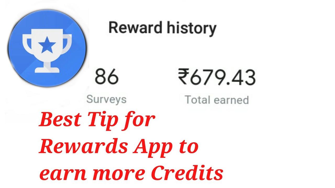 Google Opinion Rewards Best Tip for Surveys