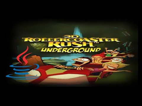Rollercoaster Rush: Underground 3D - Mobile Java Gameplay