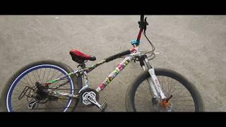 Gambar cover কম টাকাই স্টান্ট সাইকেল বানাবেন কিভাবে?  Stunt Tips - Akib Ahmed Cycle Review