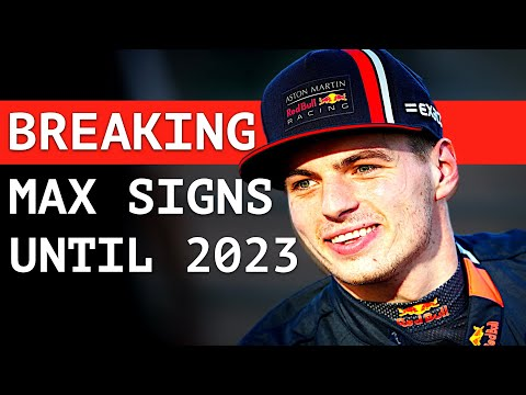BREAKING: Max Signs with Red Bull Until 2023