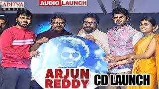 CD Launch @ Arjun Reddy Audio Launch || Vijay Devarakonda || Shalini